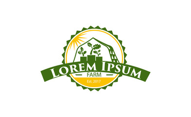 Icon for agriculture and organic farms