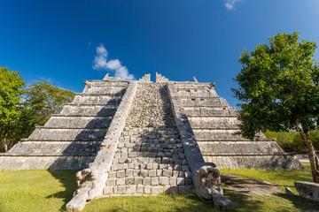 Ceremonial Pyramid, Chichen Itza, Yucatan, Mexico