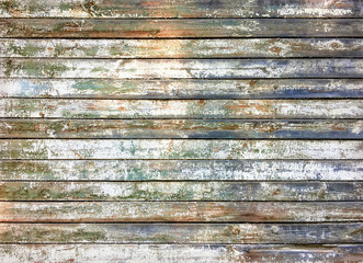 Grunge wooden weathered and rusted texture as background