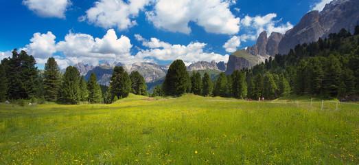 Landscape in Dolomites, Italy