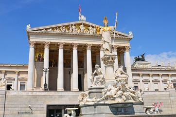 Printed kitchen splashbacks Parlament in Wien