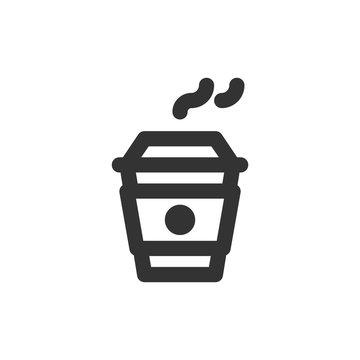 Coffee Line - Takeaway Coffee Icon