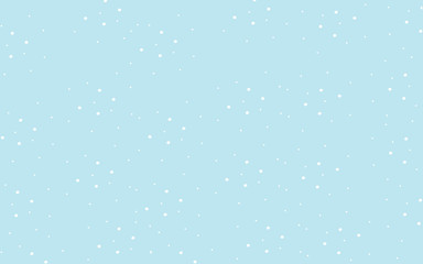 classic pastel blue cute wallpaper with white polka dots