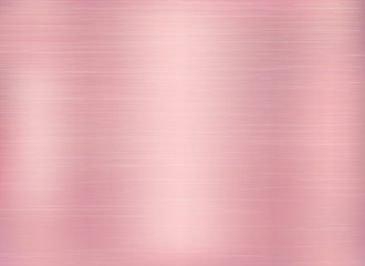 Vector rose gold background. Rose Gold metallic texture.