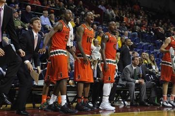 NCAA Basketball: Miami at La Salle