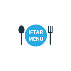 Menu Colorful Icon Symbol. Premium Quality Isolated Dishes Element In Trendy Style.