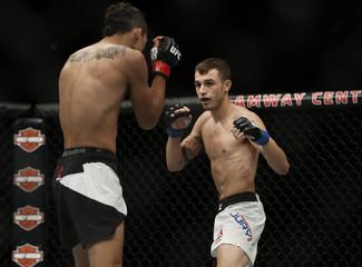 MMA: UFC Fight Night-Oliveira vs Jury