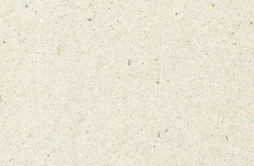 Beige recycled horizontal note paper texture, light background.