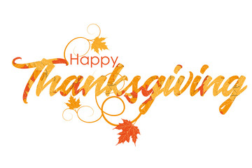 Celebration quote Happy Thanksgiving for Thanksgiving postcard.