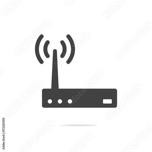 quotwifi router icon vector transparentquot stock image and