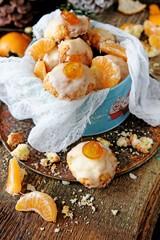 Orange and ricotta Christmas cookies