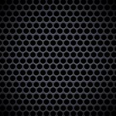 Retro Dark Circles Metal Sheet Vector