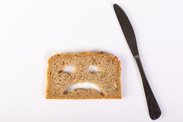 Glutenfreie Ernährung, Gesicht, Besteck