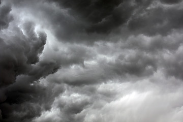 textured skyscape: background of dramatic night stormy cloud scape with gradient
