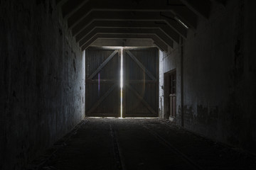 the light in the tunnel