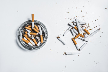 Stop smoking and be healthy