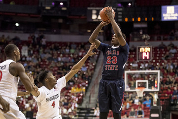 NCAA Basketball: Mountain West Conference Tournament-San Diego State vs Fresno State