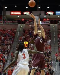 NCAA Basketball: Arkansas-Little Rock at San Diego State
