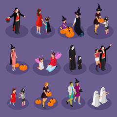 Isometric Halloween Holiday Collection