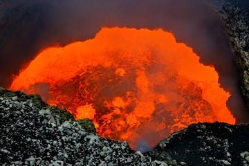 Masaya volcano active lava lake Nicaragua