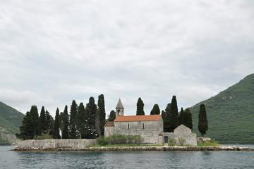 Island Sveti Dorde, Perast, Bay of Kotor