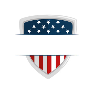 united states of america shield