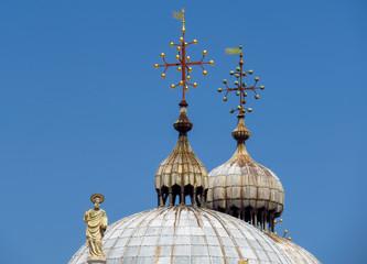Fototapete - Venice - Basilica di San Marco - Closeup