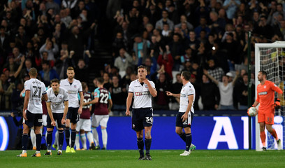 Carabao Cup Third Round - West Ham United vs Bolton Wanderers