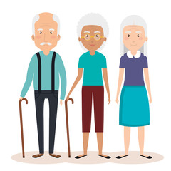 grandparents group avatars characters