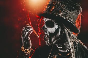 smoking baron samedi
