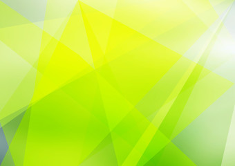 Abstract green background of blurry elements. Vivid shades of green.