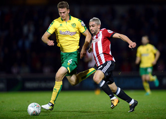 Carabao Cup Third Round - Brentford vs Norwich City