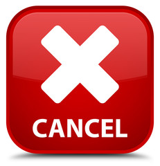 Cancel special red square button