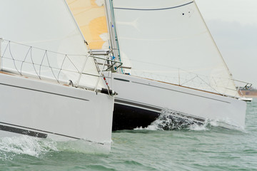 Two Sailing Boats or Yachts
