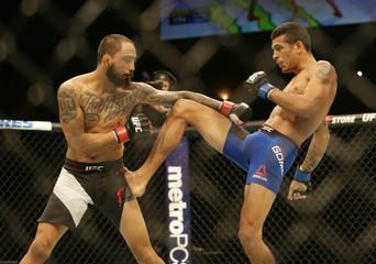MMA: UFC Fight Night-Quinonez vs Gomez