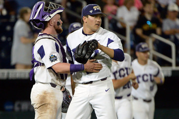 NCAA Baseball: College World Series-Louisville vs TCU