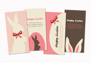 Easter Greeting Card Set