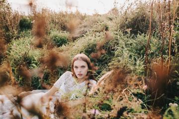 Portrait of a very pretty teen girl