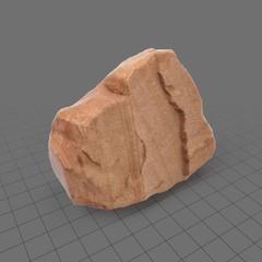 Sandstone boulder