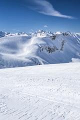 Allgäu im Winter, Skigebiet Nebelhorn