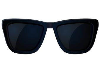 Dark sunglasses vector image
