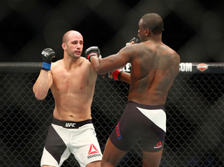 MMA: UFC Fight Night-Saint Preux vs Oezdemir