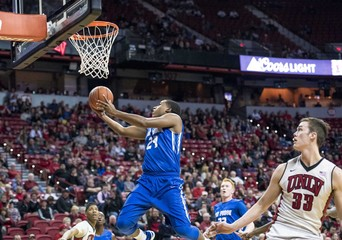 NCAA Basketball: Air Force at UNLV