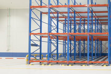 rack in warehouse