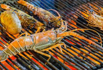 Lobster seafood omar cuisine