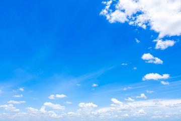 Cloudscape with Blue Sky
