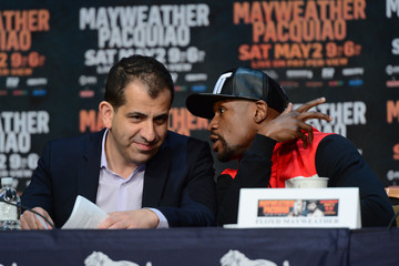 Boxing: Mayweather vs Pacquiao-Press Conference