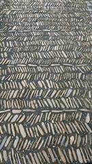 mittelalterliches Fischgrätpflaster