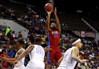 NCAA Basketball: MEAC Conference Tournament-South Carolina State vs Hampton