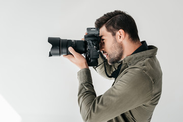 photographer Fotobehang